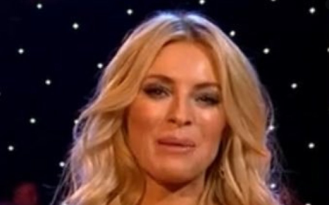 Strictly Come Dancing viewers distracted by Tess Daly's dress strap