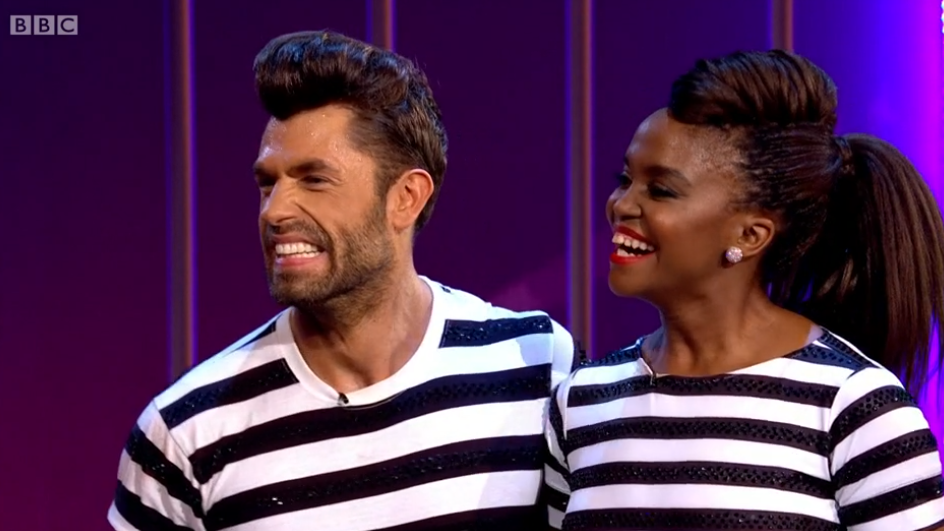 Strictly's Oti Mabuse in tears over Kelvin Fletcher's touching Blackpool surprise