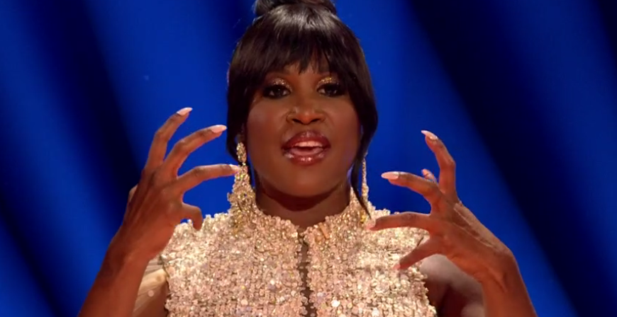 Strictly's Motsi Mabuse tickles viewers with a bizarre slip of the tongue during Blackpool show