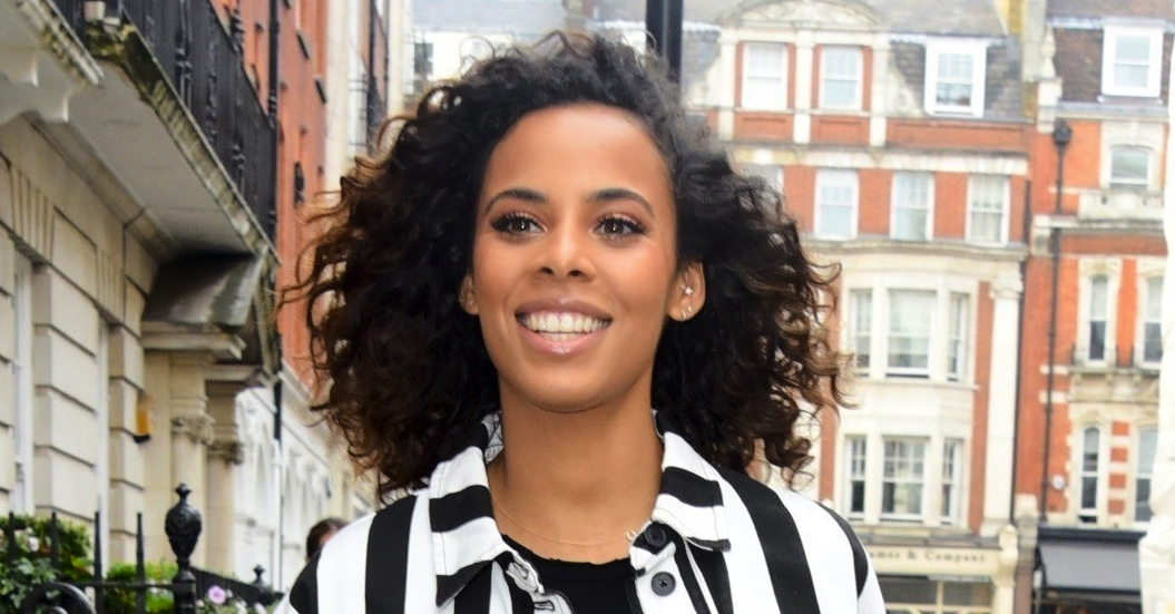 Rochelle Humes suffers awkward wardrobe malfunction on Sunday Brunch