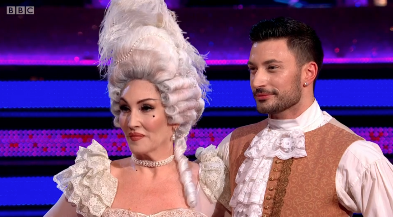 Strictly Come Dancing: Michelle Visage voted out in Week 9