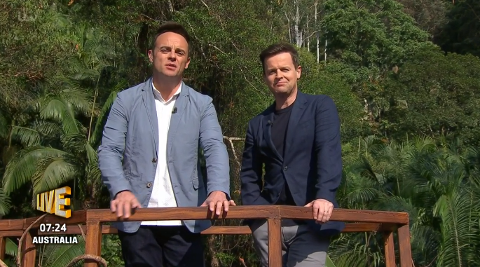 I'm A Celebrity viewers stunned as Ant McPartlin unveils new arm tattoos