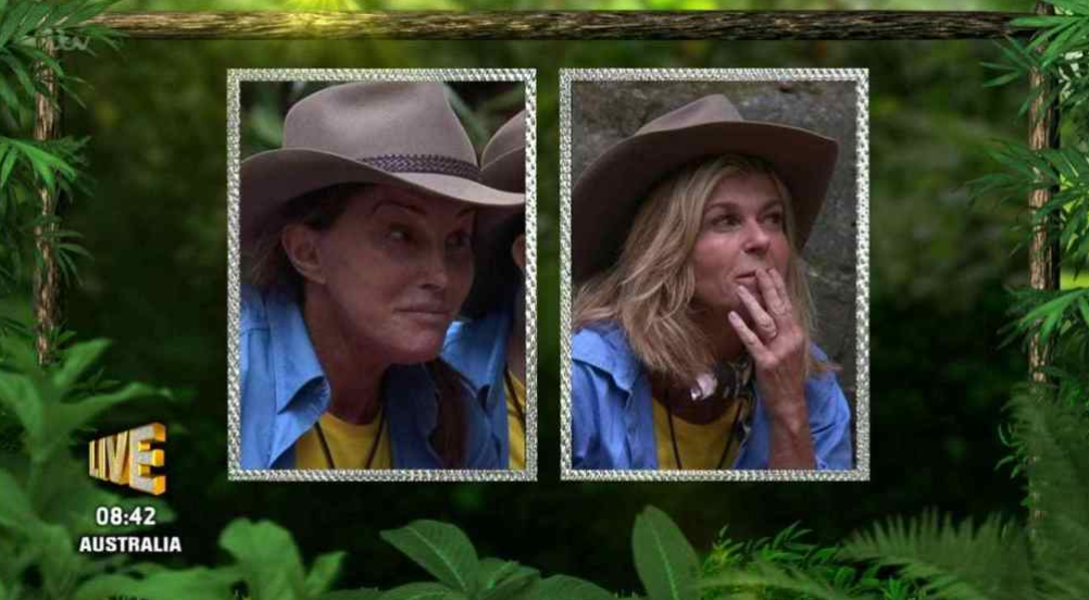 I'm A Celebrity fans divided over Caitlyn and Kate doing the bushtucker trial