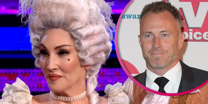 Michelle Visage clashes with James Jordan in online feud after he accuses her of 'fake tears' on Strictly
