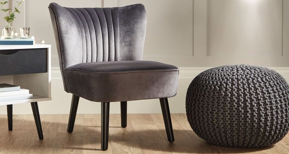 Aldi is selling a gorgeous designer-look velvet chair for less than £60!
