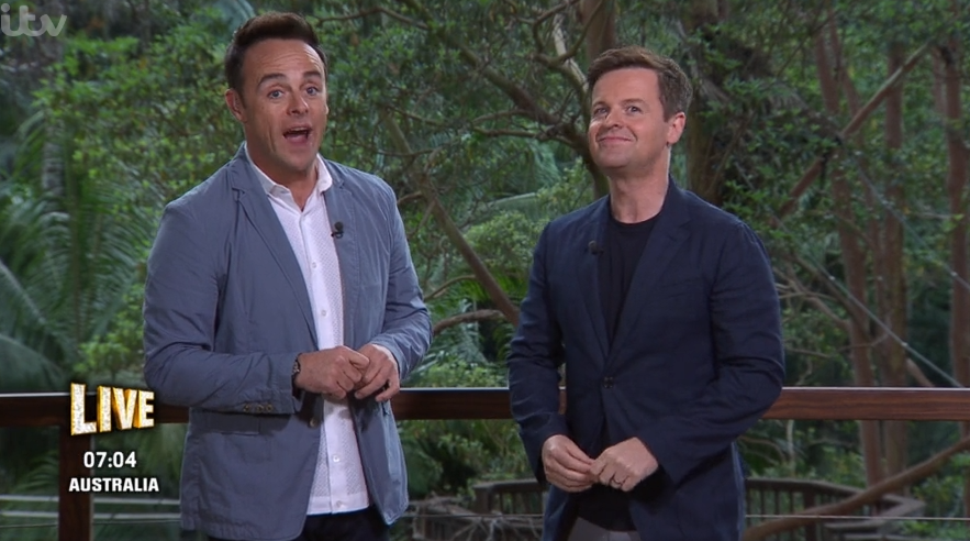 I'm A Celebrity viewers in hysterics at Ant and Dec gags about Prince Andrew's 'sweating'