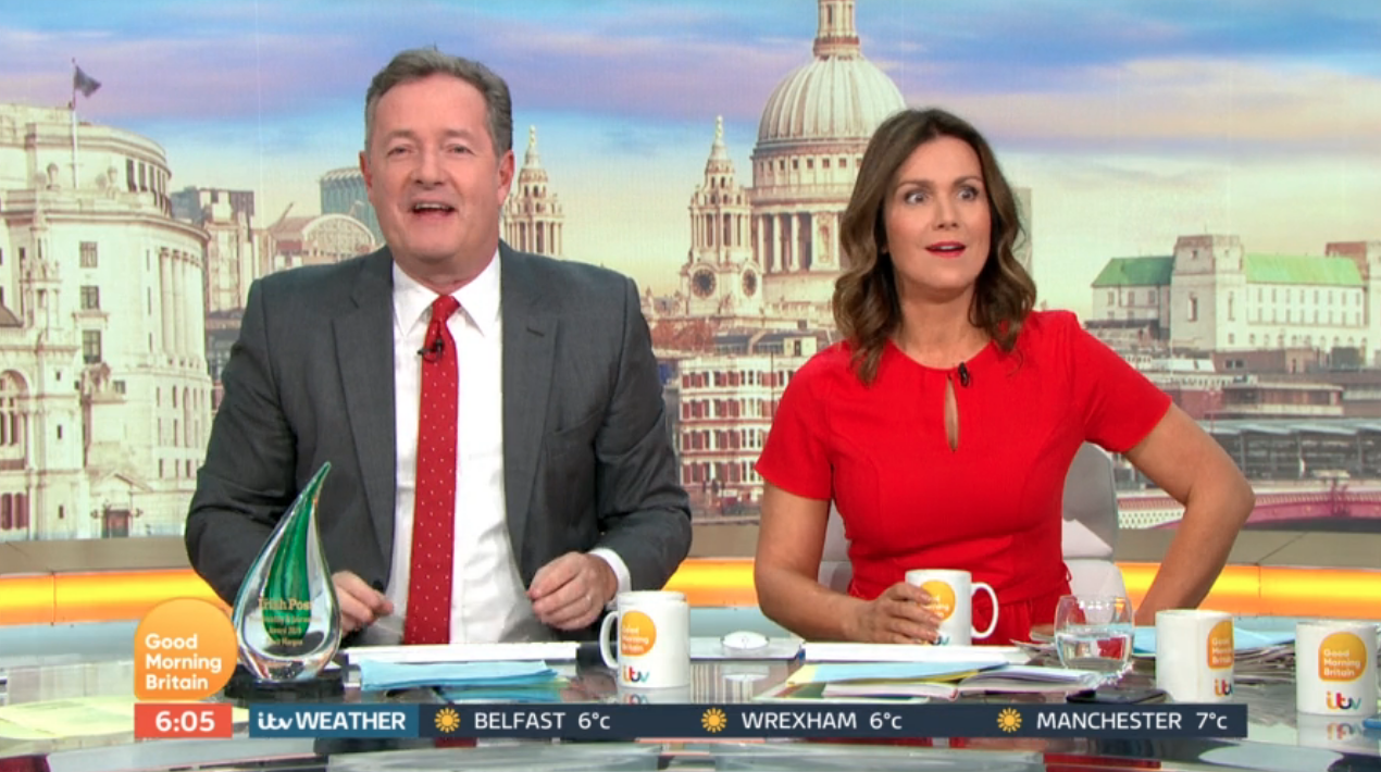 Piers Morgan hints he'll quit Good Morning Britain at end of year