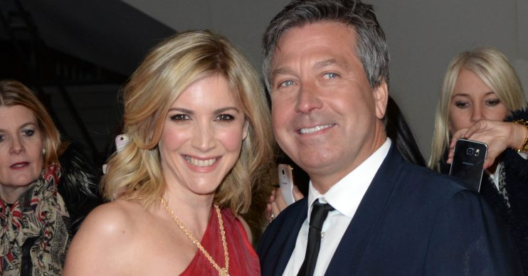 John Torode and Lisa Faulkner married
