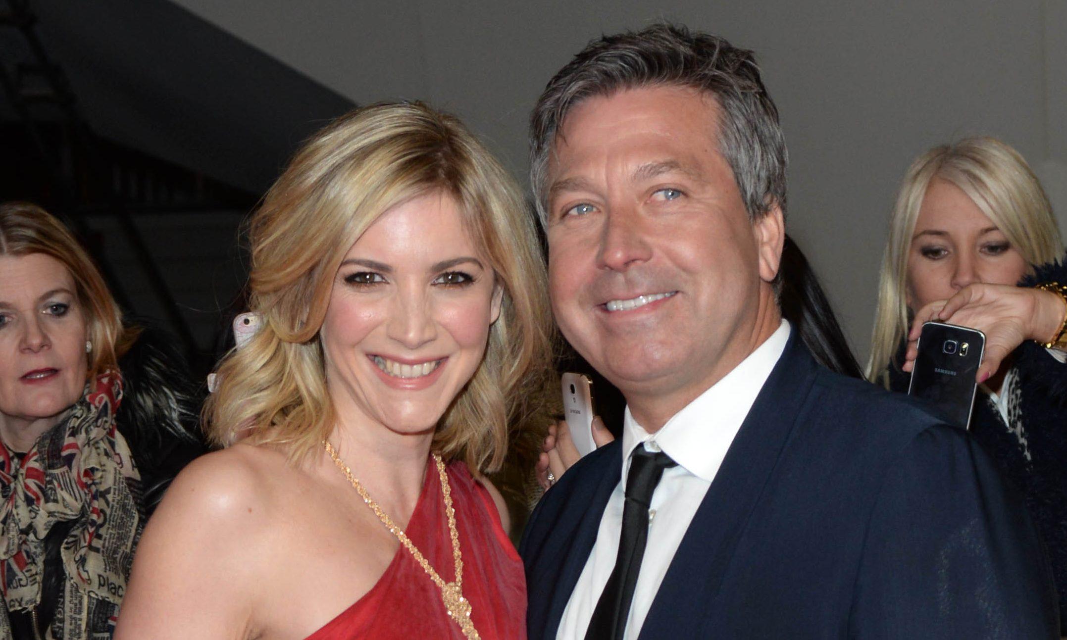 John Torode and Lisa Faulkner married