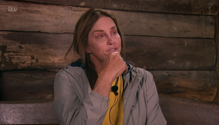 Teary Caitlyn Jenner admits to I'm A Celebrity doubts