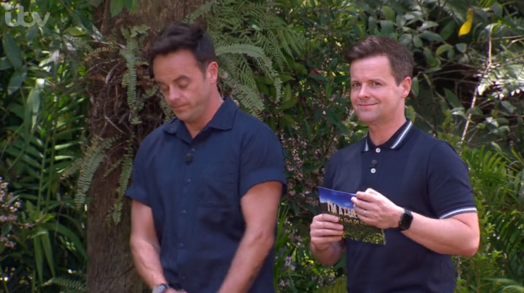 Dec Donnelly voted fittest out of Ant and Dec