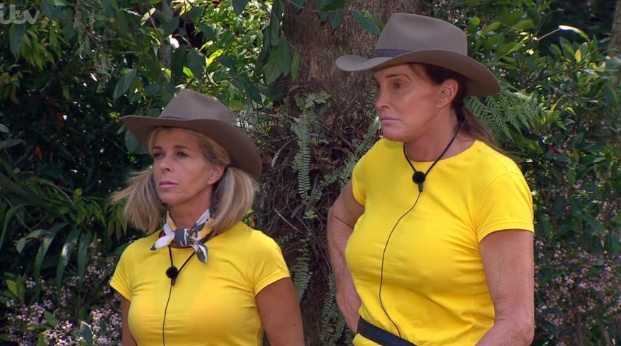 Kate Garraway and Caitlyn Jenner on I'm A Celebrity