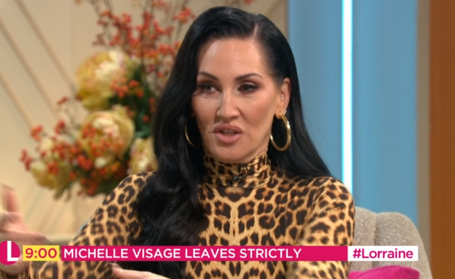 Strictly Come Dancing's Michelle Visage hits back at claims she 'stormed out'