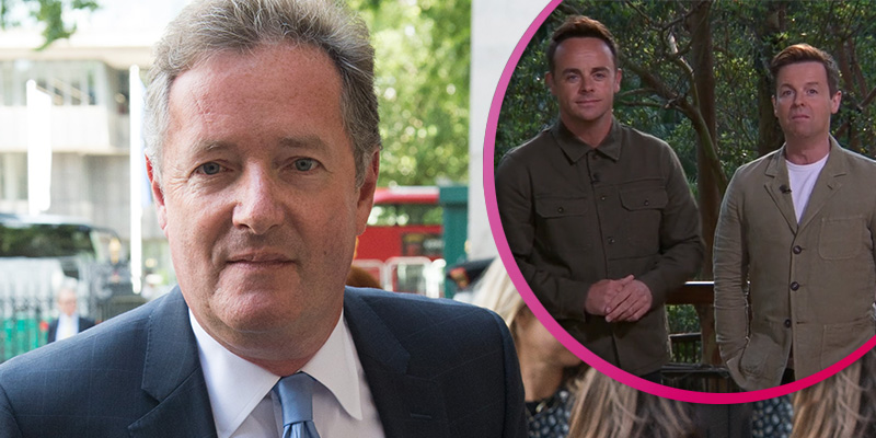 Piers Morgan's 'feud' with Ant and Dec escalates as they brand him 'snowflake' after dig on I'm A Celebrity