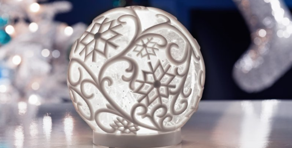 B&M is selling a light-up glitter snow globe for just £10 this Christmas