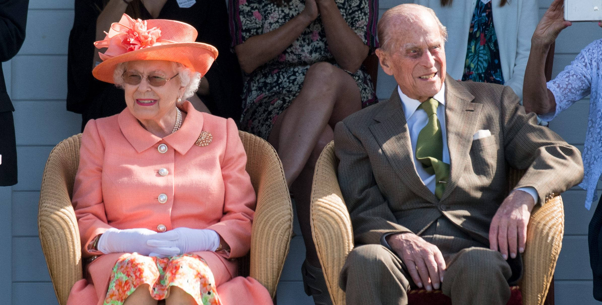 William and Harry pay tribute to the Queen and Prince Philip on their 72nd wedding anniversary