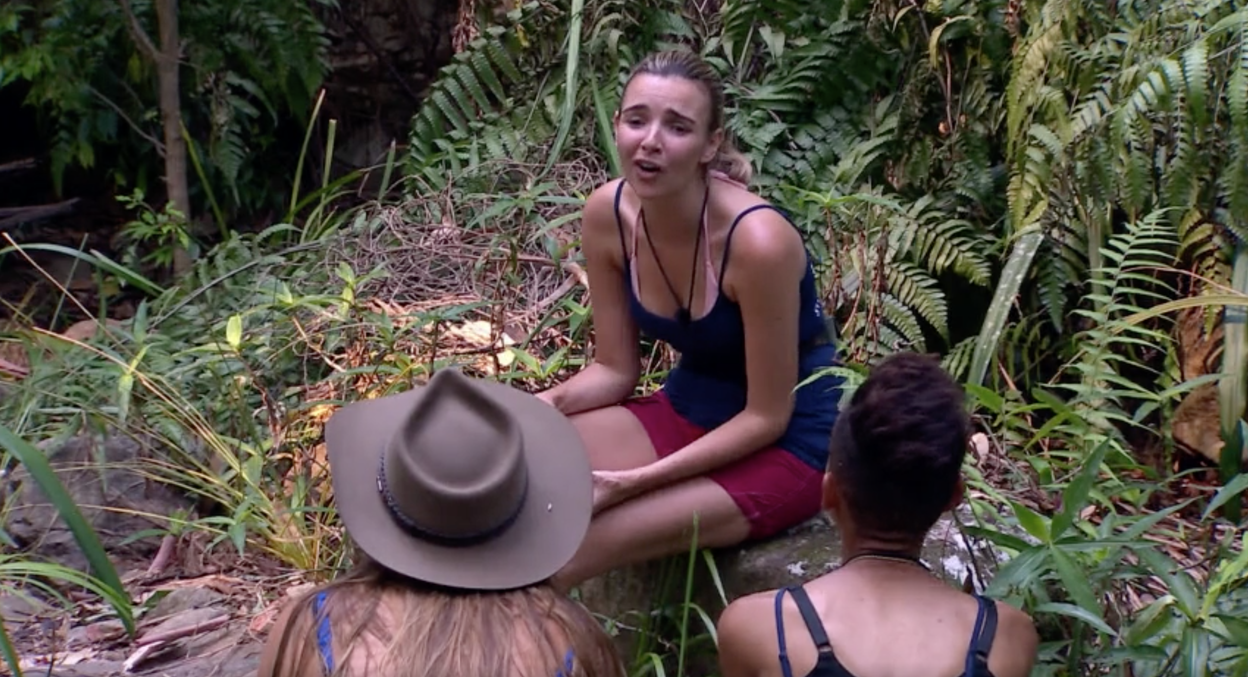Jacqueline Jossa upsets Ian Wright over I'm A Celebrity meal decision