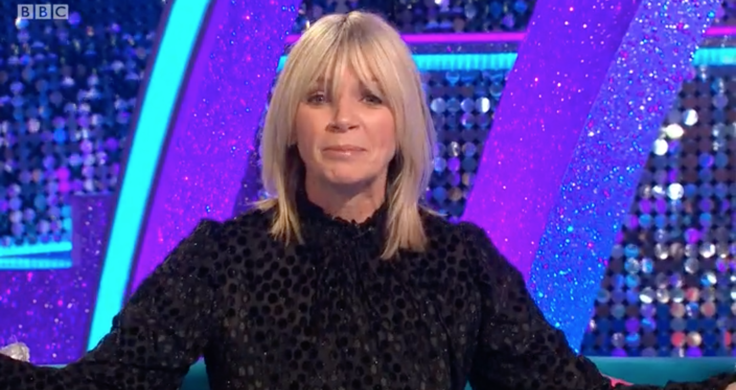 Strictly: Zoe Ball apologises as It Takes Two is forced off air due to technical issues