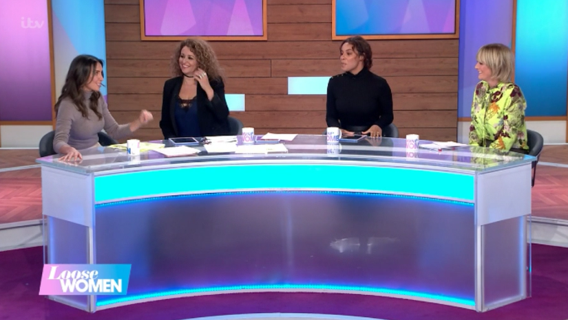 Rochelle Humes replaces ill Carol McGiffin last minute on Loose Women