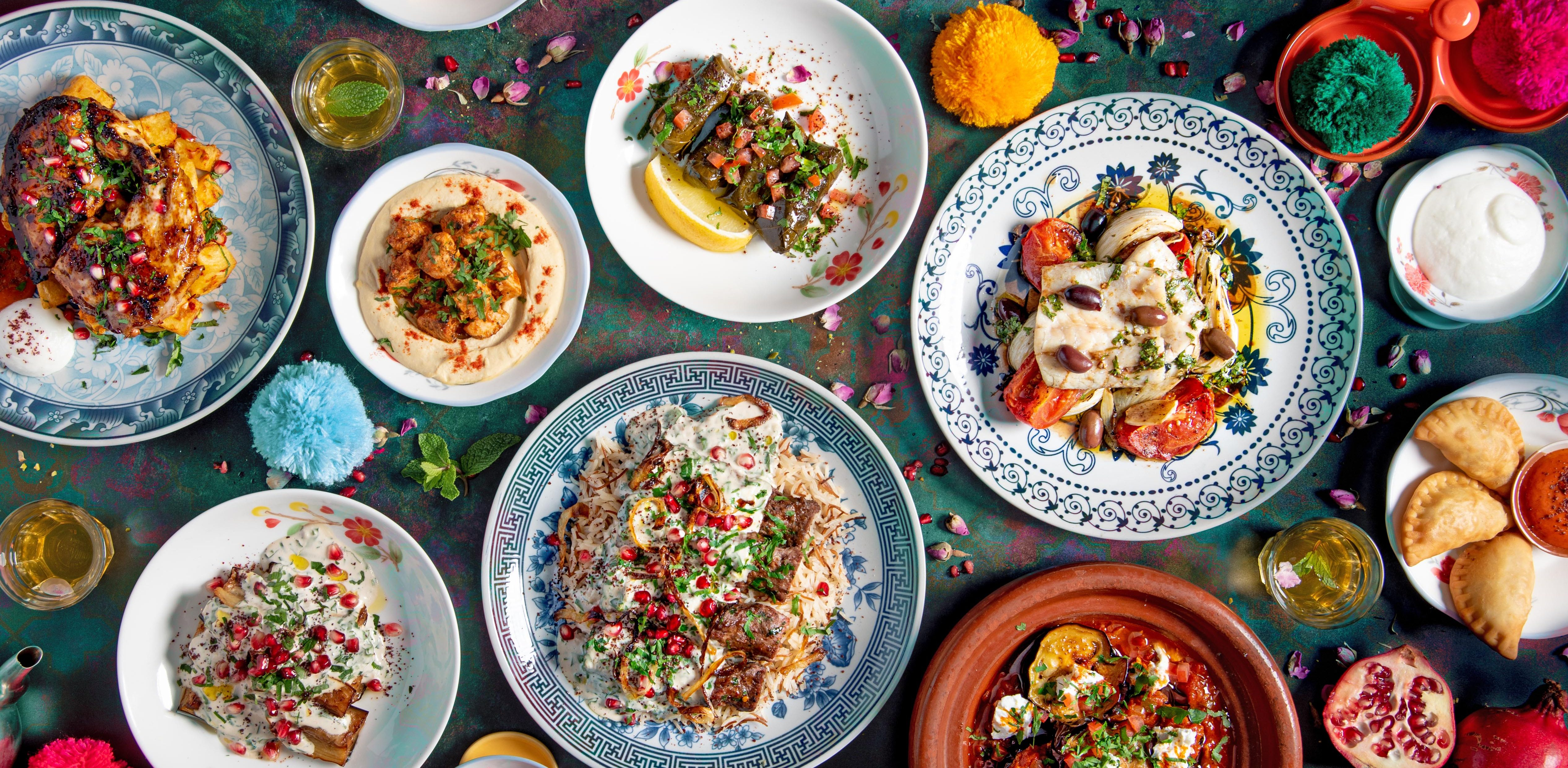 Lebanese eatery Comptoir Libanais launches its Christmas feasting menu