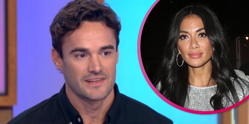 X Factor: Celebrity's Thom Evans dodges questions about 'romance' with Nicole Scherzinger on Loose Women