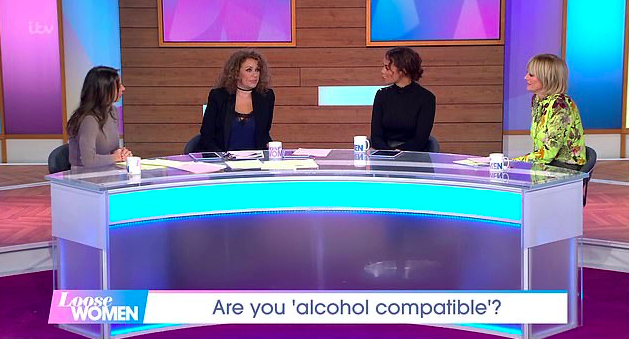 Loose Women viewers 'disgusted' as the panellists 'glorify' alcohol