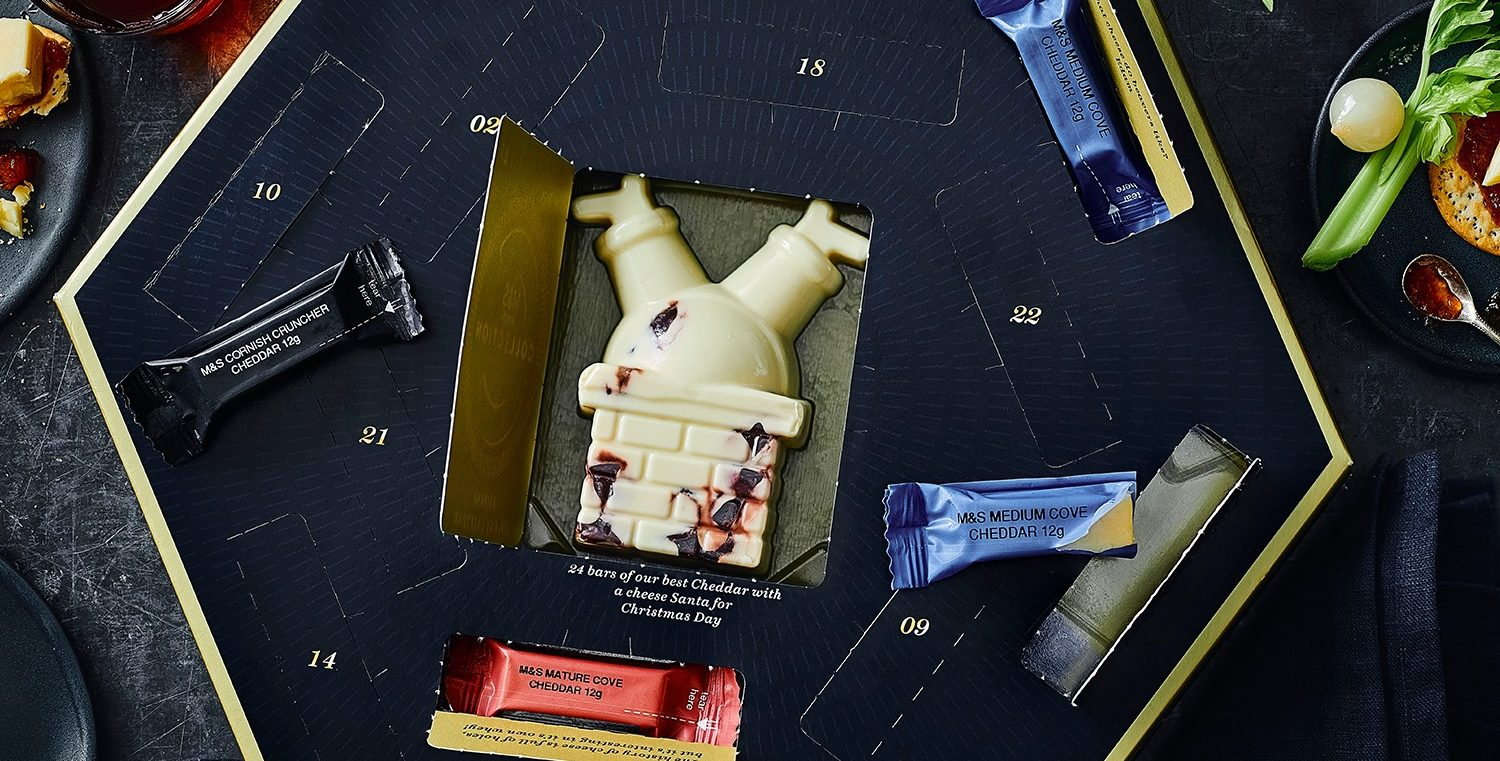 Marks & Spencer releases cheese advent calendar – and it's on sale now for just £15!