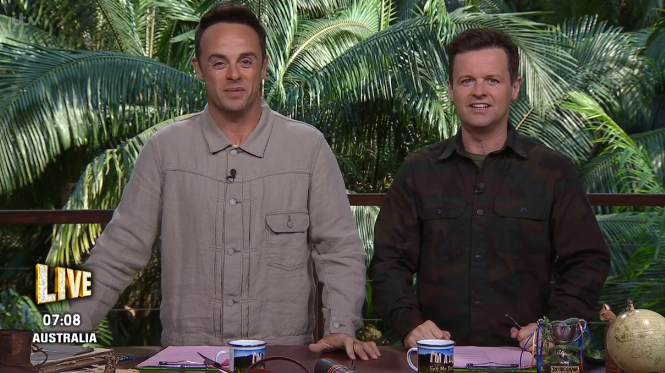 I'm A Celebrity viewers all making the same joke about Dec Donnelly's appearance