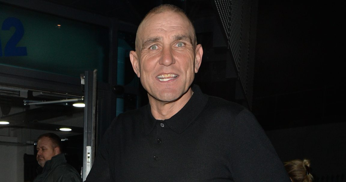 X Factor: Celebrity star Vinnie Jones claims wife Tanya has 'summoned' their dog to heaven