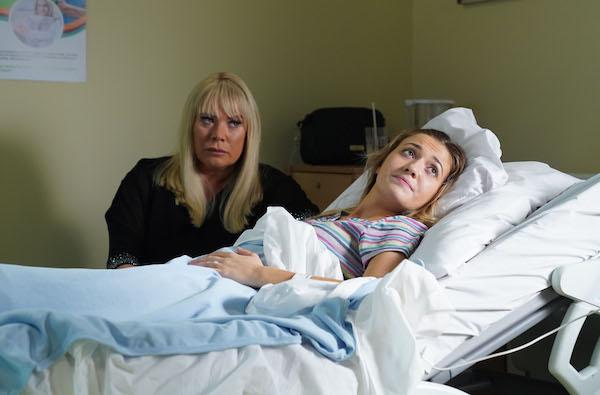EastEnders SPOILERS: Horror for Louise when her baby stops breathing