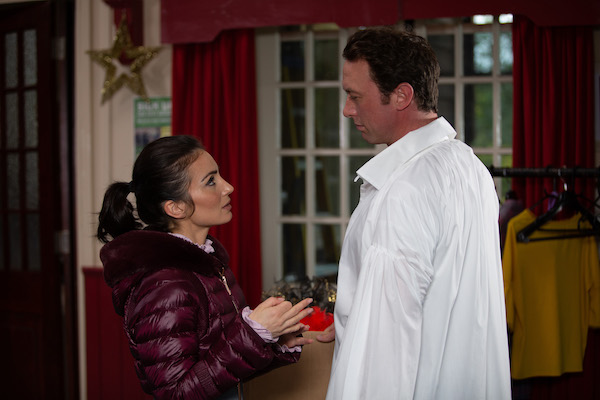 Emmerdale SPOILERS: Leyla and Liam share a kiss?