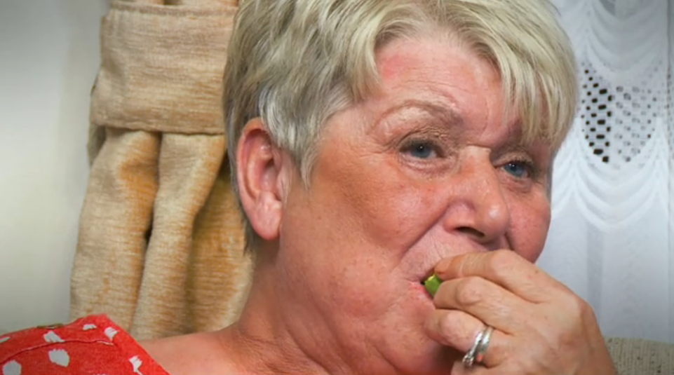 Gogglebox's Jenny shocks viewers by munching on Brussels sprouts for a snack