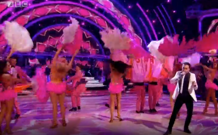 Strictly Come Dancing: Bruno Tonioli sings opening number
