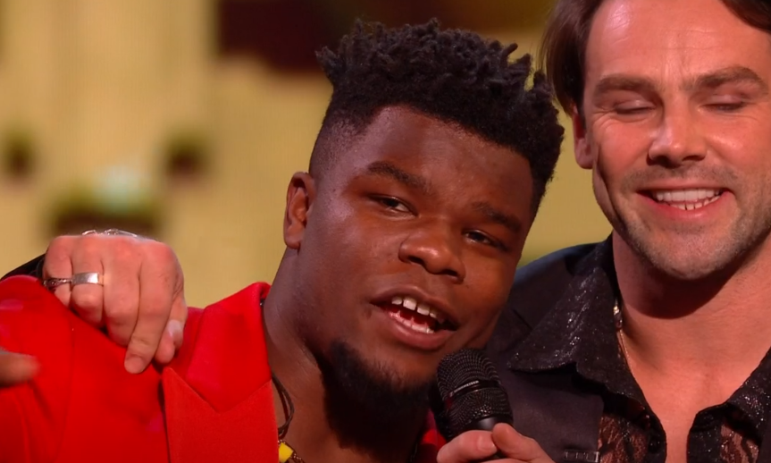 X Factor: Celebrity: Try Star's Levi Davis hits back as angry audience turns on V5