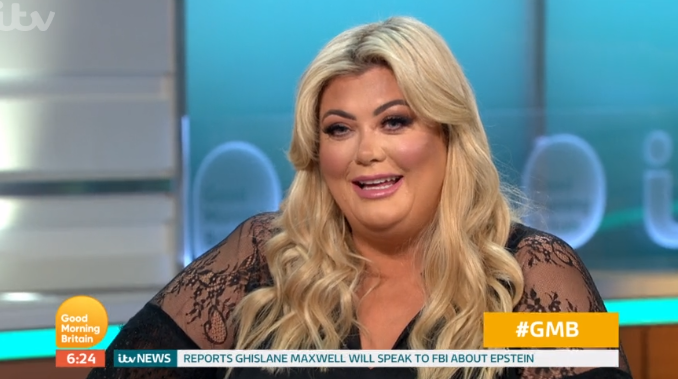 Gemma Collins demands Arg propose to her live on Good Morning Britain