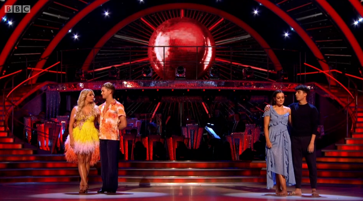 Strictly Come Dancing vote-off