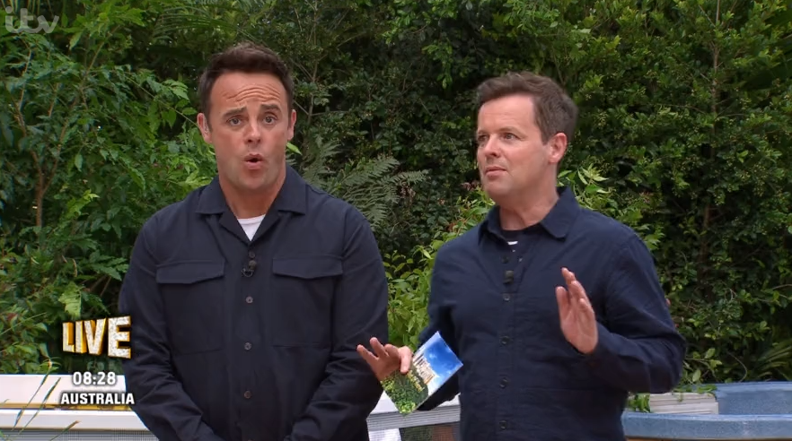 Ant and Dec on I'm A Celebrity