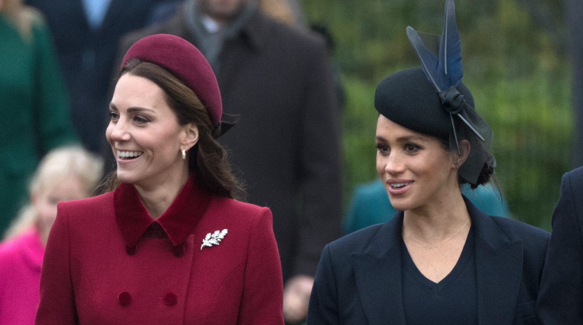 Meghan is 'aware' she is being 'pitted against' Kate and finds it 'challenging'