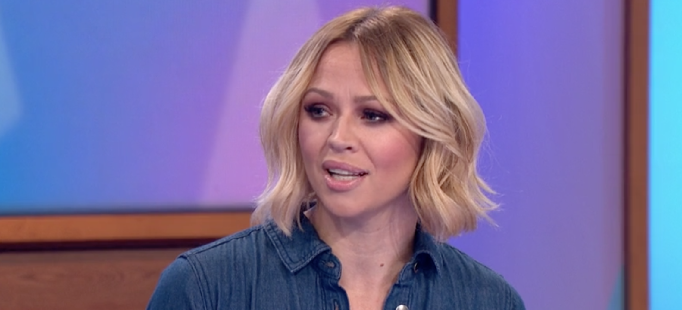 Kimberley Walsh reveals Cheryl 'cried her eyes out' over rumours they voted for Nadine to do trials