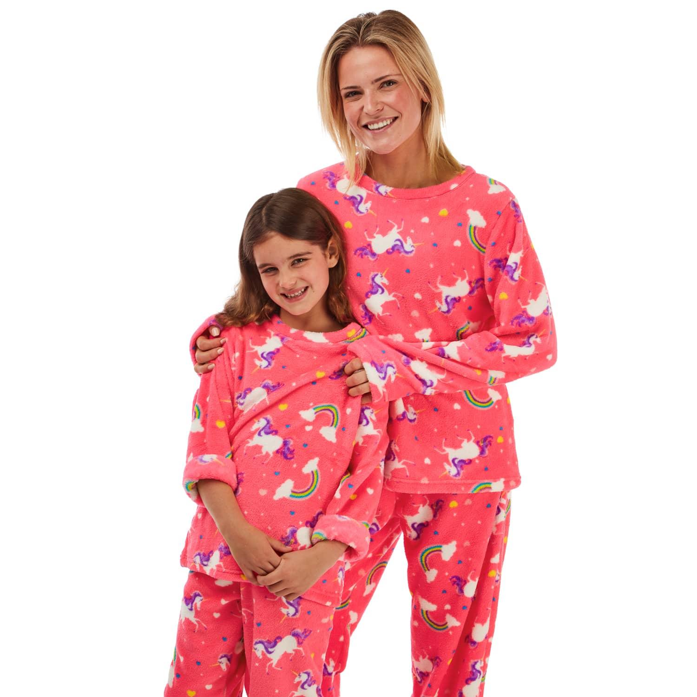 B&m fleece matching family PJs
