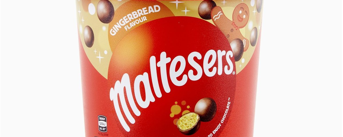 You can buy a huge bucket of Gingerbread Maltesers just in time for Christmas