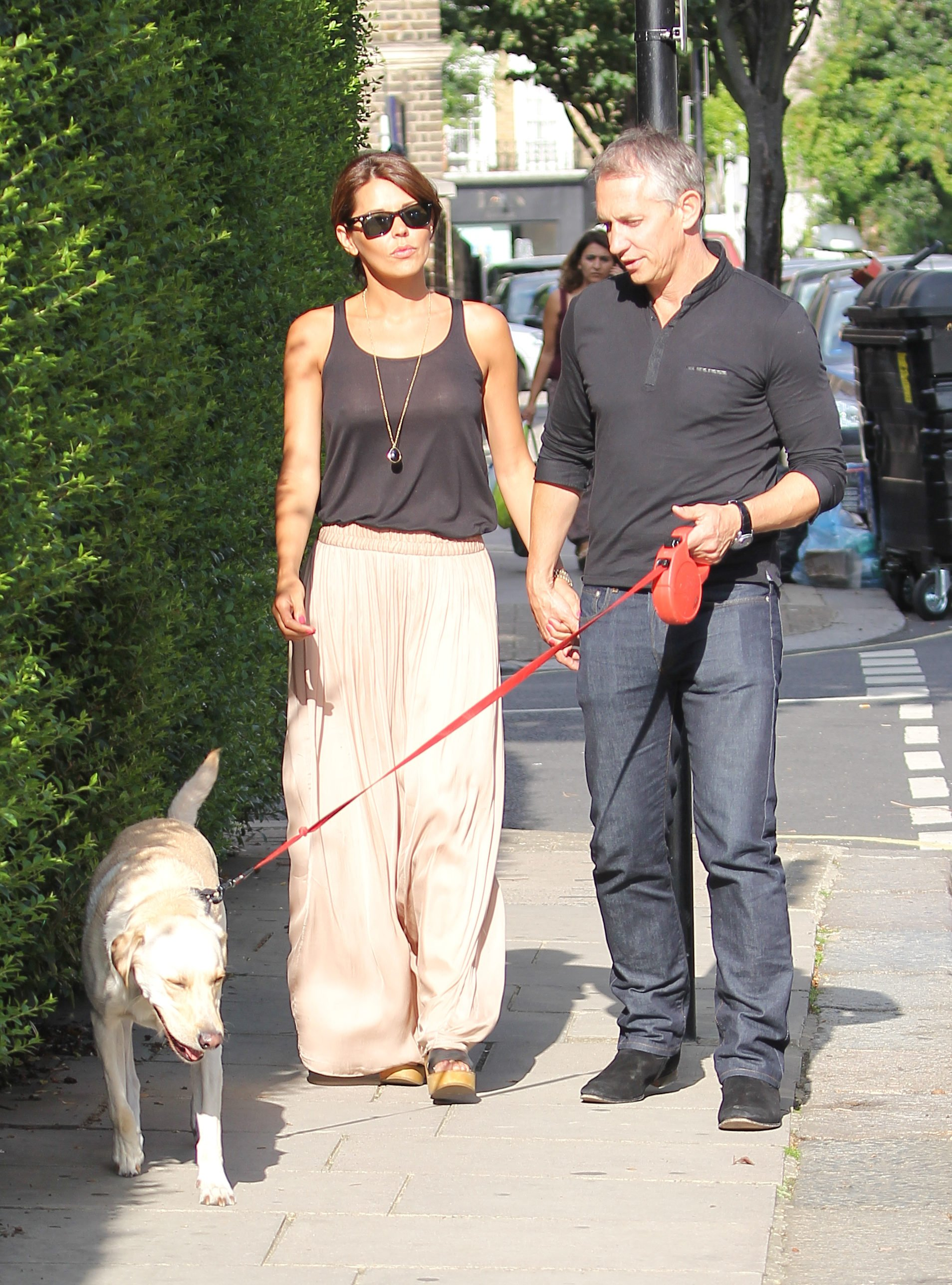 Gary Lineker, Danielle and their dog