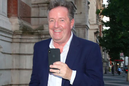 Piers Morgan sends 'lovely friend' Lisa Armstrong gushing message of support