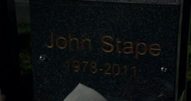 John Stape grave