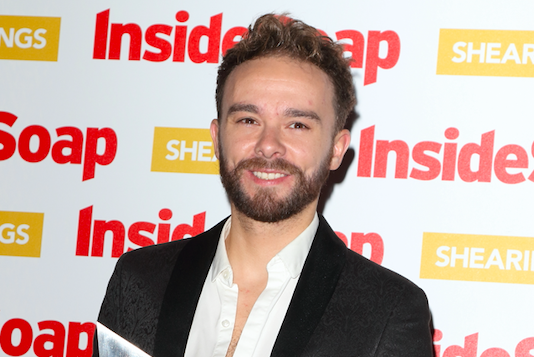Jack P Shepherd's cheeky message for Lucy Fallon