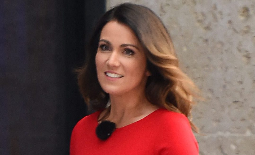 Susanna Reid drives viewers wild with her busty display on Good Morning Britain