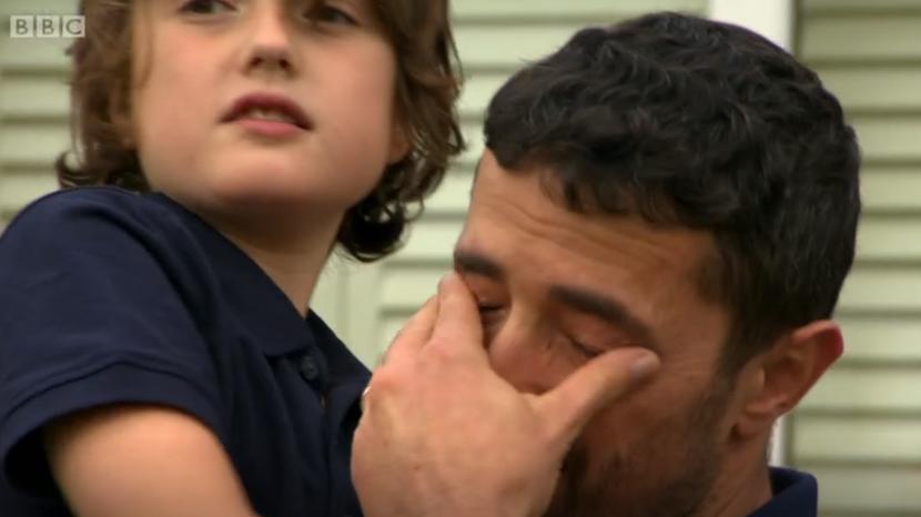 DIY SOS viewers emotional as autistic boy's dad weeps tears of joy over incredible renovation