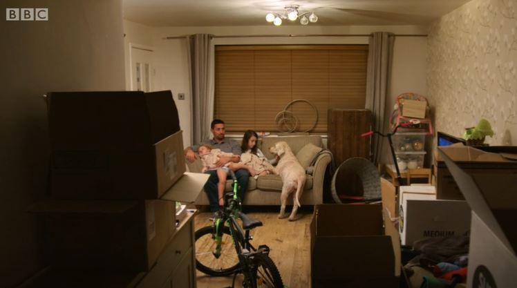 DIY SOS - Taylor-Mann living room