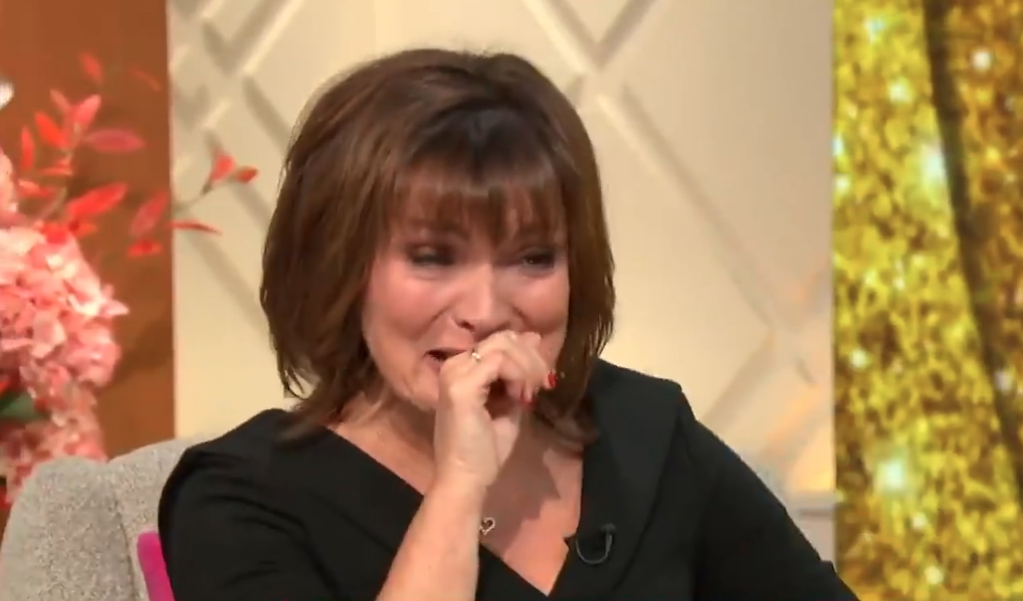 Lorraine Kelly cries as special show celebrates her 60th birthday