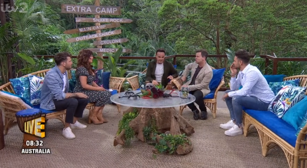 Ant and Dec on Extra Camp